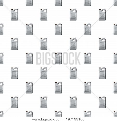 Plastic canister pattern seamless repeat in cartoon style vector illustration