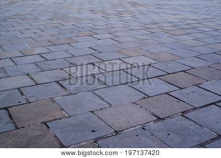 gray paving slabs background and texture for graphic design.