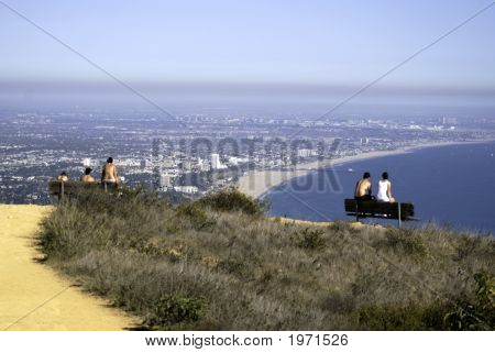 Aerial Of Santa Monica