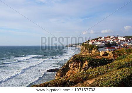 Azenhas Do Mar Village, Sintra, Lisbon, Portugal