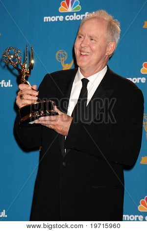 LOS ANGELES - AUG 29:  John Lithgow in the Press Room at the 2010 Emmy Awards at Nokia Theater at LA Live on August 29, 2010 in Los Angeles, CA