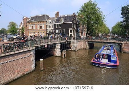 Amsterdam Canal Crossing