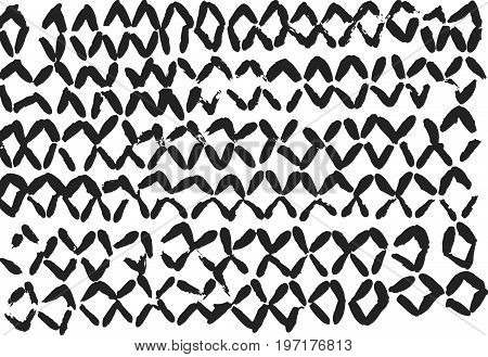 Vector seamless pattern. Modern stylish texture. Repeating geometric background. - stock vector