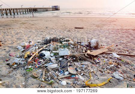 Junk On Dirty Beach.