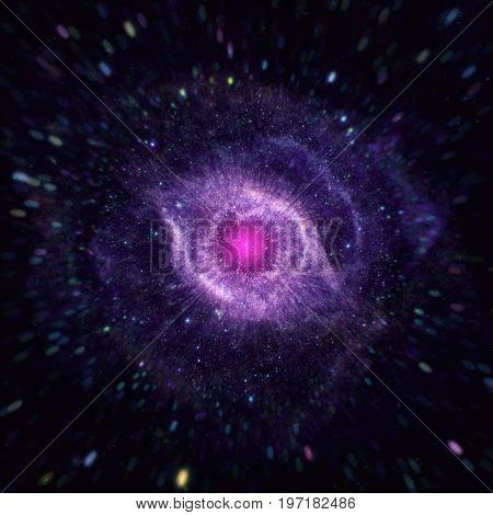 The Helix Nebula In The Constellation Aquarius.