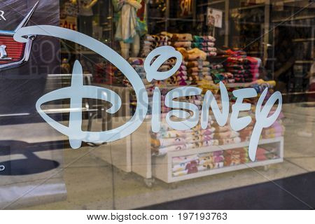Las Vegas - Circa July 2017: Disney Store Retail Mall Location. Disney Store is the Official Site for Disney Shopping