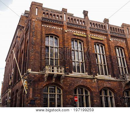 Patriotische Gesellschaft (patriotic Society) In Hamburg Hdr