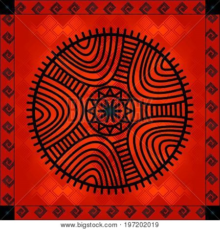 African Cultural Ornaments 182.eps