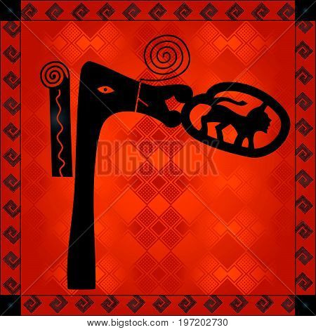 African Cultural Ornaments 204.eps