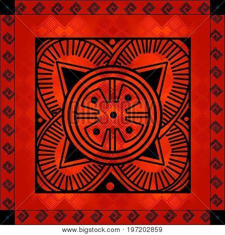 African Cultural Ornaments 208.eps