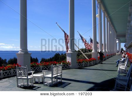 Grand Hotel Front Porch