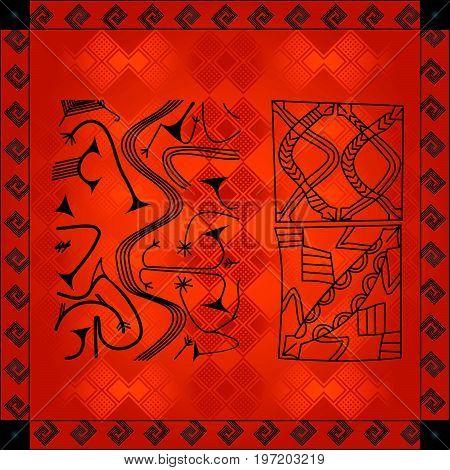 African Cultural Ornaments 218.eps