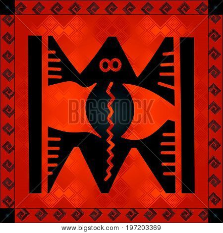 African Cultural Ornaments 223.eps