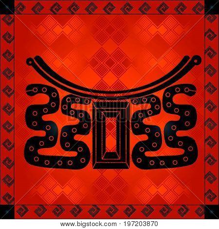African Cultural Ornaments 239.eps