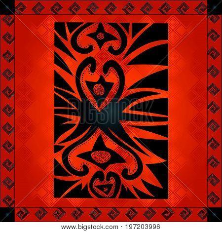 African Cultural Ornaments 241.eps
