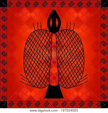 African Cultural Ornaments 243.eps
