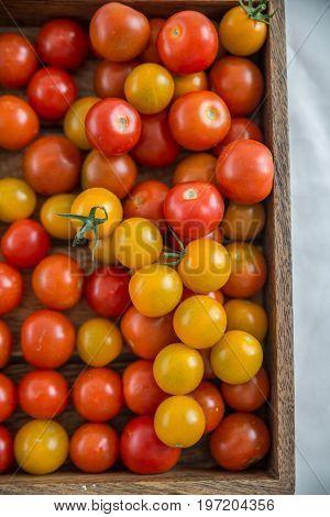 Fresh tomatoes. Red tomatoes. Village market organic tomatoes