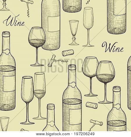 Wine-sketch-pattern-1A.eps