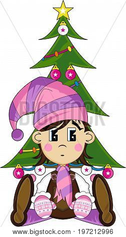 Elf & Christmas Tree