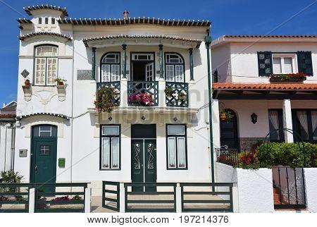 Colored Houses, Costa Nova, Beira Litoral, Portugal