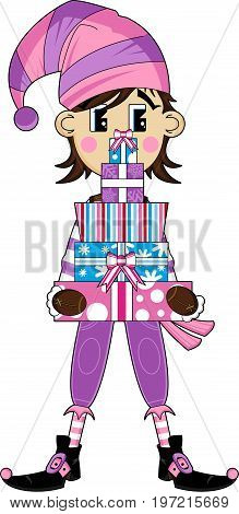 New Girl Elf & Gifts