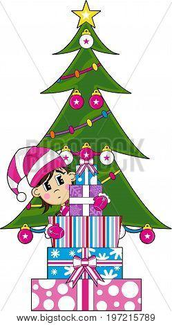 Elf Tree & Gifts