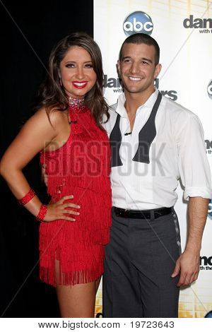 LOS ANGELES - SEP 20:  Bristol Palin & Mark Ballas at the Season 11 Premiere of Dancing with the Stars at CBS Television CIty  on September 20, 2010 in Los Angeles, CA