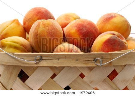Basket Of Peaches 2