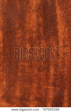 Brown grunge rust stain texture, rusty iron wall, a close up photo of brown grunge rust stain on a rusty iron wall present a detail of a brown grunge rust stain texture on that rusty iron wall