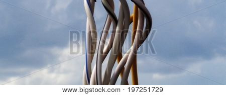 Wire. Electrical wires. Electrical cable. Electrical power cable.