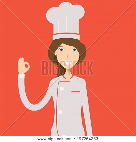Chef Character | set of vector character illustration use for human, profession, business, marketing and much more.The set can be used for several purposes like: websites, print templates, presentation templates, and promotional materials.
