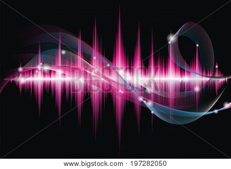 Abstract Vector Shiny Background Design. Eps 8 Illustration.