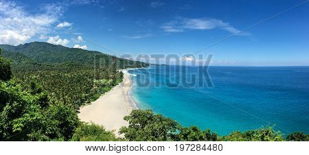 Seascape Of Lombok Island, Indonesia