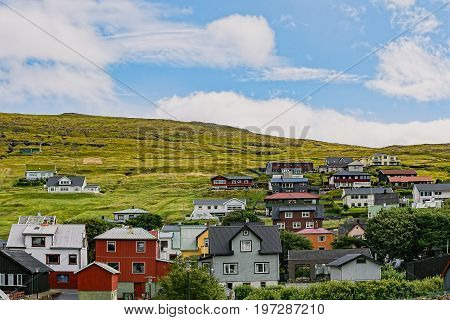 Vestmanna or Vestmannahavn is a settlement on the northwestern Streymoy of the Faroe Islands