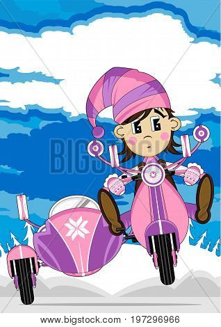 Elf On Scooter 25
