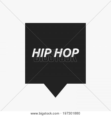 Isolated Tooltip With    The Text Hip Hop