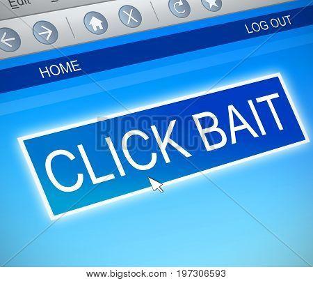 Click Bait Concept.