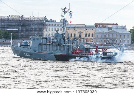 Tugboat Of The Navy Rb-348