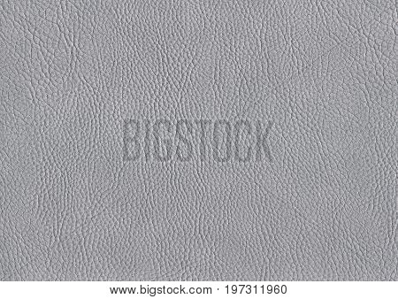 a full frame abstract grey leather background