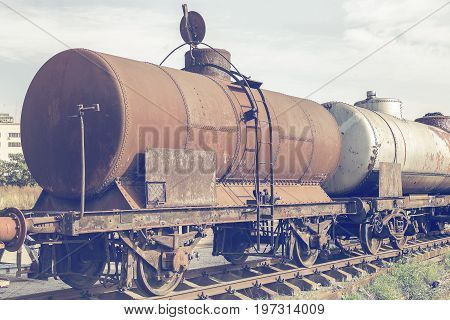 Abandoned Rusty Railway Containers 3