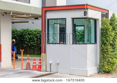 Security Booth for new apartment, Bangkok, Thailand