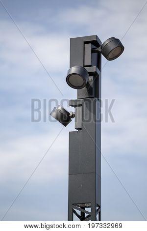 Modern Lamp Post