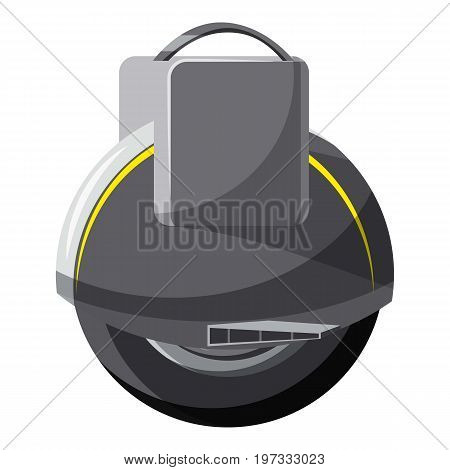 Self balancing wheel icon. Cartoon illustration of self balancing wheel vector icon for web design