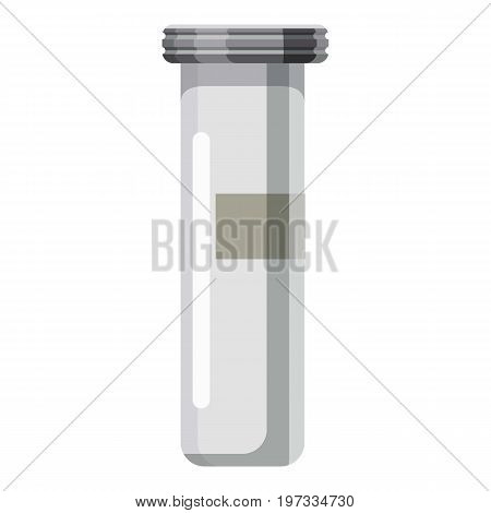 Test tube icon. Cartoon illustration of test tube vector icon for web design