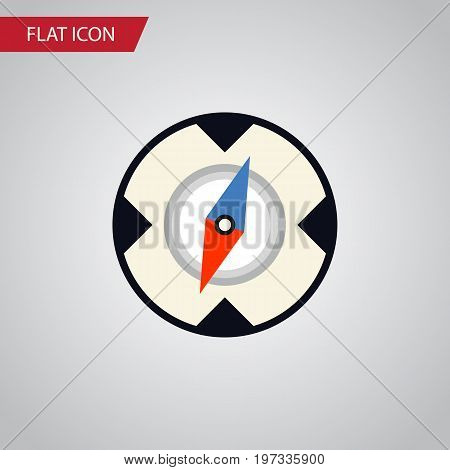 Magnet Navigator Vector Element Can Be Used For Direction, Magnet, Navigator Design Concept.  Isolated Direction Flat Icon.