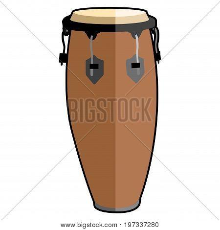 Isolated Conga Drum Icon