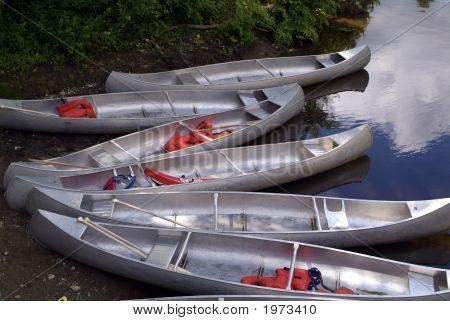 Six Canoes