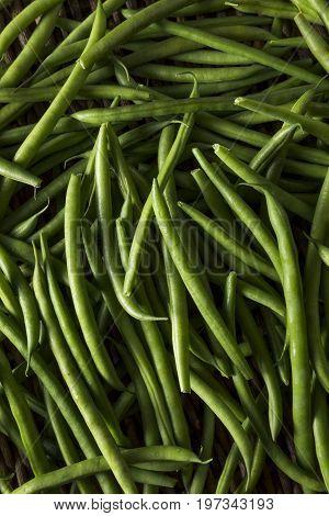 Raw Organic French Green Beans