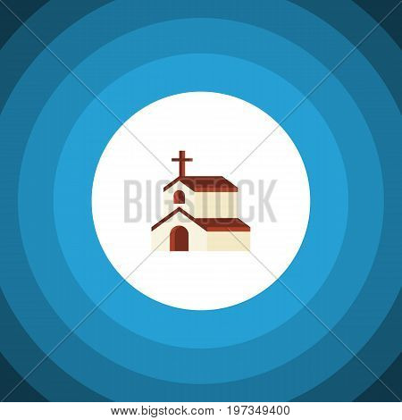 Religion Vector Element Can Be Used For Religion, Faith, Church Design Concept.  Isolated Faith Flat Icon.