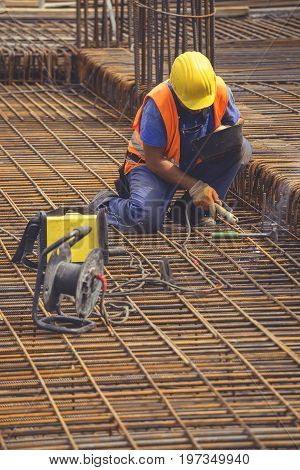 Welding Angled Rebar For Concrete Reinforcing 5